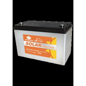 Leoch 12V 100AH Deep Cycle AGM Gel Solar Battery