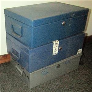 Lockable Metal Boxes - no keys