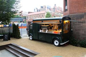 Mobile Panel Van Food Truck