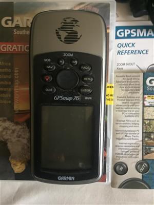 GARMAP 76 GPS