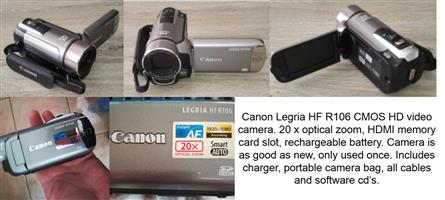Canon Legria HF R106 Video Camera | Junk Mail