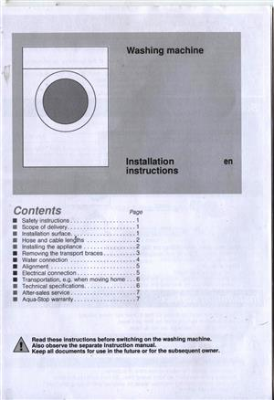 Brand New BOSCH Washing Machine