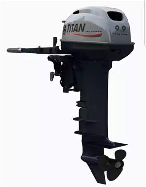 10 HP Long Shaft Outboard.Titan.New.