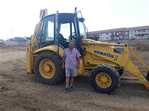 TLB FOR RENT R3500 WET PER DAY R2500 DRY PER DAY KOOS 0815013814