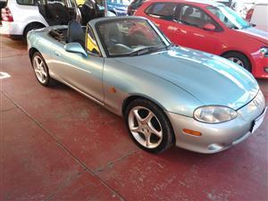 2002 Mazda MX-5 1.8i soft top