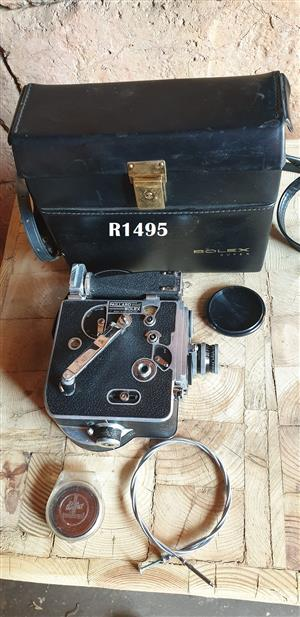 Bolex Paillard Super Cine Movie Camera