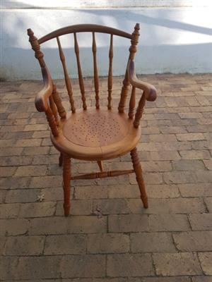 Oregon Pine Granny Chair