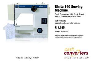 Elnita 140 Sewing Machine