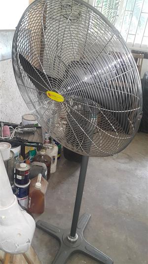 Grey fan for sale