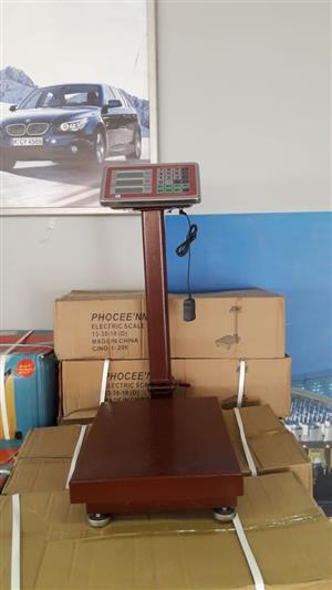 Floor Weighing Scales on Auction