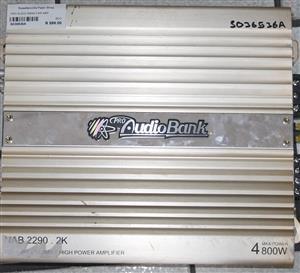 Pro audio bank car amp S036536A #Rosettenvillepawnshop