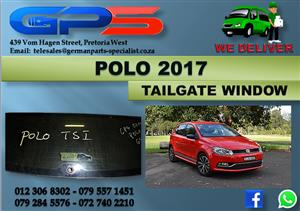 Used VW Polo 2017 Tailgate Window for Sale
