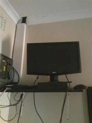 Acer flatscreen monitor