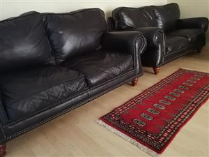 Windsor full genuine leather couches!