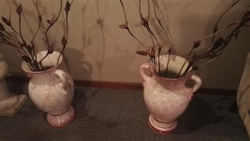 2 x Vases for sale
