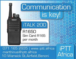 Track your PTT Two Way Radio