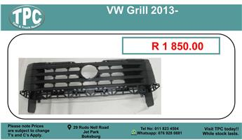 Vw Grill 2013- For Sale.
