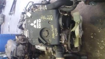 Mitsubishi Triton 2.5 TDi Engine ( 4D56U )