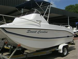 Seacat 565 F/C with 2 x 2018 Suzuki 100HP 4-stroke Motors