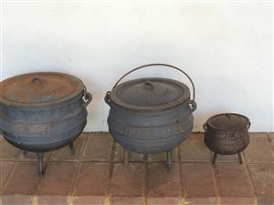 Cast iron pots for sale