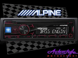 Alpine CDE-150E mp3 cd front loader with USB With Remote