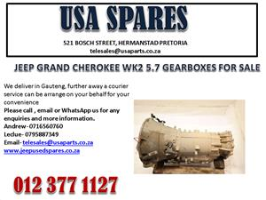 JEEP GRAND CHEROKEE WK2 5.7 GEARBOX FOR SALE