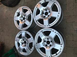 "Audi 4 Mags 17"" 5 x 112 PCD"