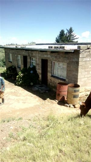Houses and big yard in Lesotho for a very cheap Price