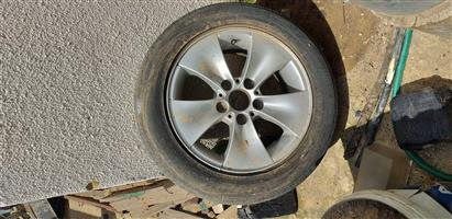 Used rim for bmw e90, size 225 50 16