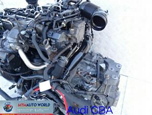 Imported used AUDI A4 2.0L TDI, CBA,  Complete second hand used engines