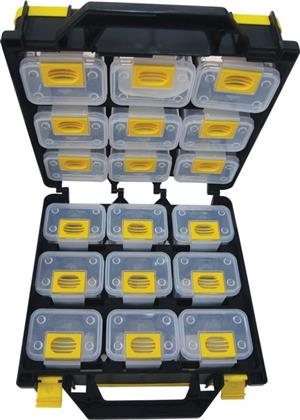 18 Pc Double Side Storage Box