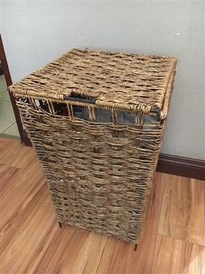 2 x Laundry Basket & 1 x Bin for sale as combo!
