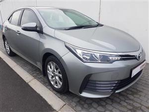 2018 Toyota Corolla COROLLA 1.4D PRESTIGE