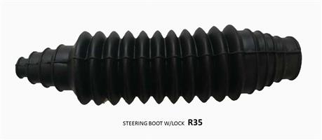 UNIVERSAL STEERING BOOT W/LOCK