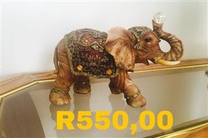 Indian elephant ornament