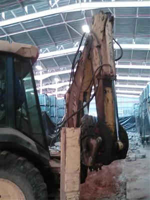 Demolitions of old structures and Breaking and Resurfacing of concrete Floors