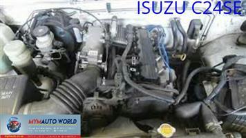 Imported used  engines. Complete second hand used ISUZU 2.4 D MAX, C24SE engine