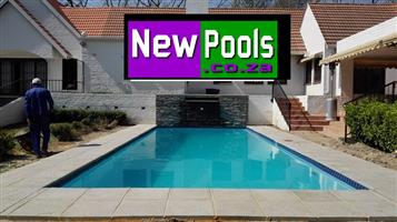 New Pools is bringing the Customer, Quality Workmanship at Discounted Prices  www.newpools.co.za info@newpools.co.za  Contact 061 725 9980