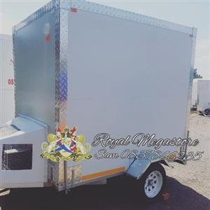 Stock Mobile Freezer adjustable to Chill or Freeze