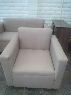 3 pic couch set, 2 x 1 seater,  1 x 2 seater