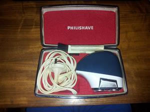Vintage Philips Philishave SC7860G Electric Shaver in original casing.