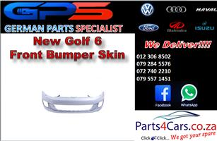 New VW Golf 6 Front Bumper Skin for Sale