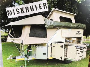For Hire Miskruier & Ratel Bush Lapa 4x4 caravans