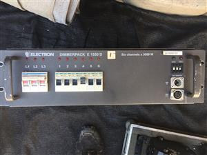 Electron E1550D      6 - Channel Dimmers for sale for spares