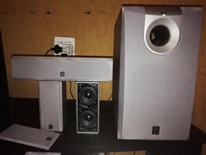Yamaha Speakers 3.1 Surround Sound, Extremely Powerful