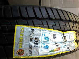 Tyres. 195R15c Minerva
