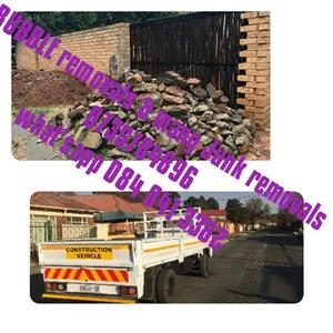 &&&&&Get your Rubble or Junk or Garden Refuse Removal Team Now!!!!!Call 073 578 3896!!!!!