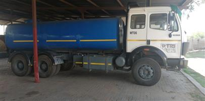 18 000 liter Water Truck For Hire