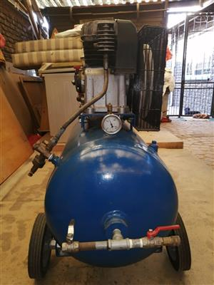 Honda Re-conditioned 160cc 4 stroke PETROL motor 150lt capacity Compressor EXCELLENT unit