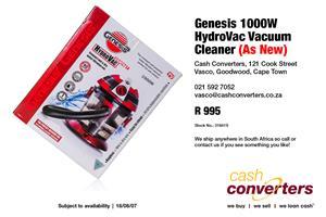 Genesis 1000W HydroVac Vacuum Cleaner (As New)